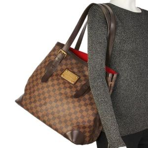 ❤️DISCONTINUED ❤️LOUIS VUITTON TOTE HAMPSTEAD GM